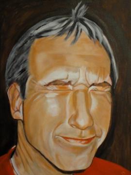 Ölmalerei, Acryl auf leinwand, Kopf, Handwerk, Malerei,
