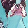 Acrylmalerei, Malerei, Hund, Vierbeiner