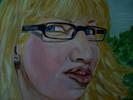 Portrait, Malerei, Acrylmalerei, Zeichnungen