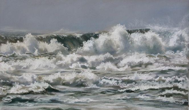 Amrum, Meer, Insel, Welle, Strand, Nordsee