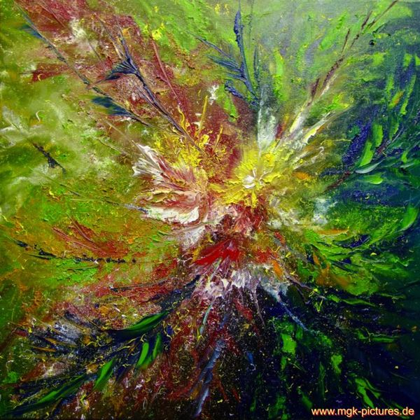 Malerei, Blütenzauber