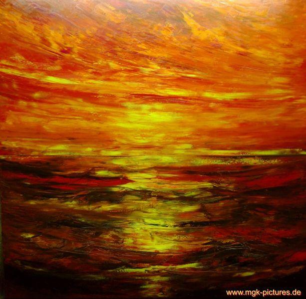 Meerestraum, Malerei