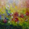 Blütenzauber, Malerei