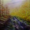 Ölmalerei, Herbst, Malerei