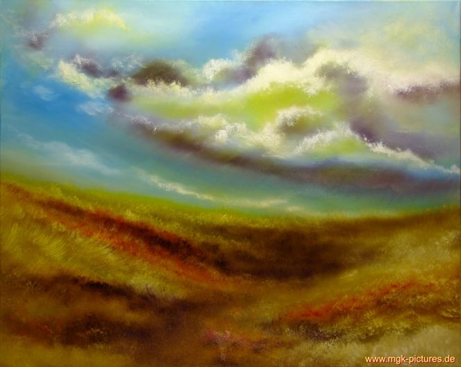 Regenwolken, Malerei, Figural