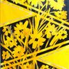 Blumen, Glanz, Gelb, Malerei