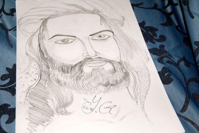 Che, Meisterhafte, Skizze, York, Guevara, Zeichnung