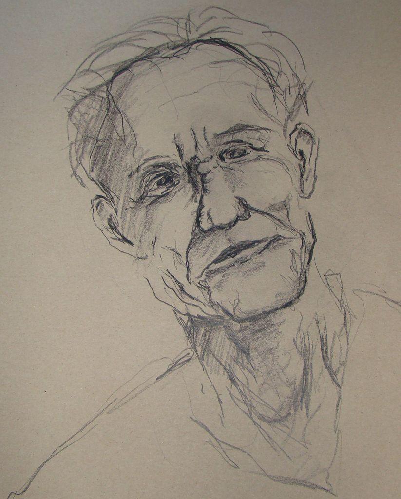 bild alter mann portrait zeichnung zeichnungen von mainsi bei kunstnet. Black Bedroom Furniture Sets. Home Design Ideas