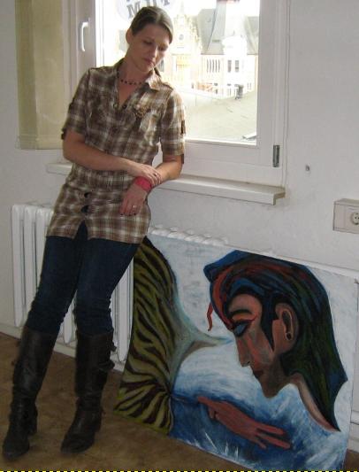 Acrylmalerei, Gemälde, Ölmalerei, Malerei, Abstrakt