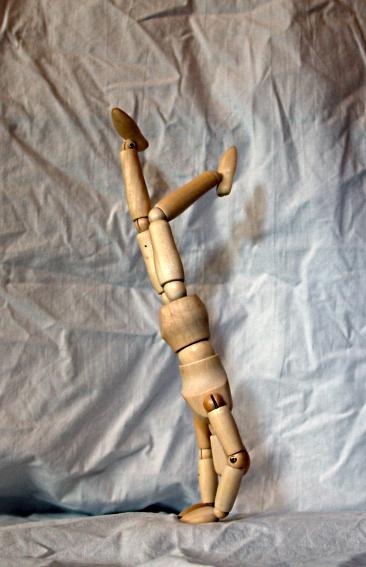 Figur, Mann, Natur, Puppe, Handstand, Frankreich