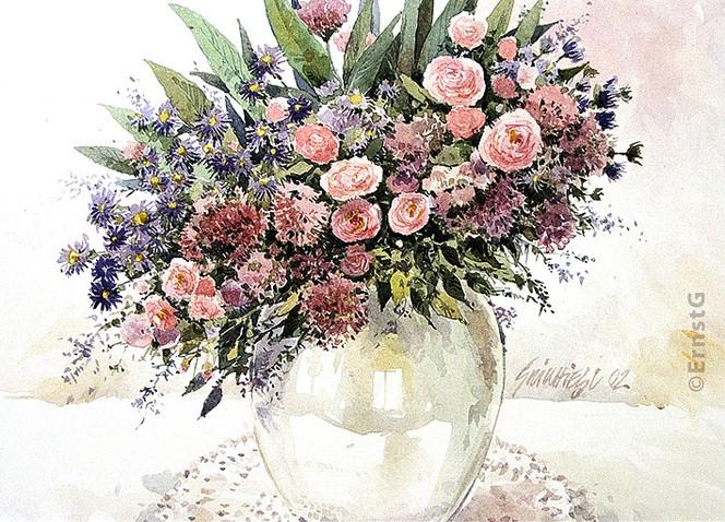 Blumen, Aquarellmalerei, Aquarell, Pflanzen, Tag