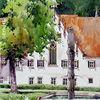 Blaubeuren, Kloster, Aquarell