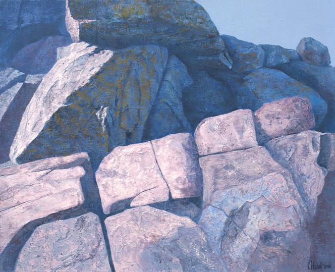 Malerei, Felsen