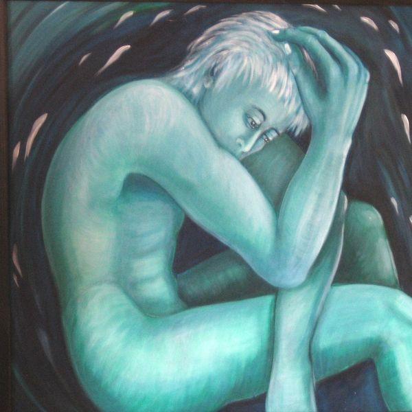 Gedanken, Mann, Stille, Denken, Einsamkeit, Gefühl