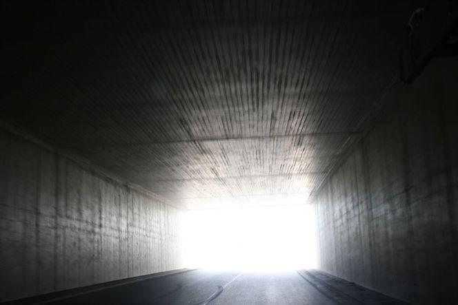 Tunnel, Licht, Beton, Fotografie, Ende