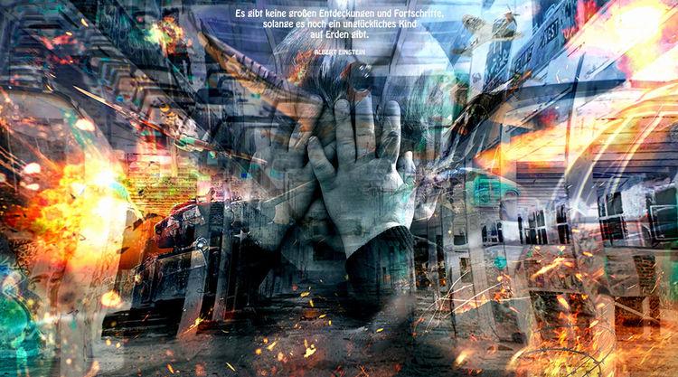 Egoismus, Wolken, Technik, Hitze, Unbewusstheit, Knochen