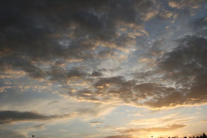 Sonnenuntergang, Straßenlaterne, Baum, Himmel, Wolken, Fotografie