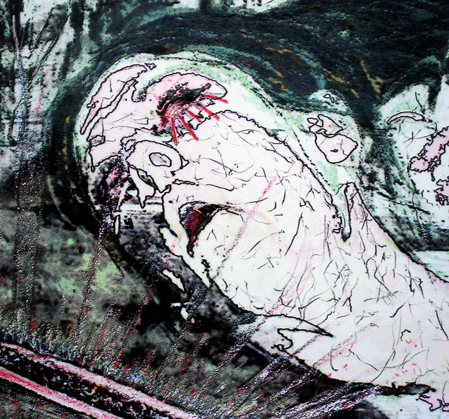 Tod, Ende, Digital art, Einsamkeit, Verlassen, Mixed media