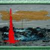 Landschaft, Leuchtturm, Meer, Malerei