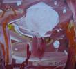 Acrylmalerei, Aquarellmalerei, Landschaft, Rot