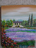 Malerei, Provence, Frühling