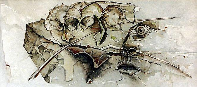 Grafik, Gemälde, Abstrakt, Arbeit, Zeichnung, Surreal
