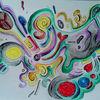 Bunt, Improvisation, Symbolisch, Träumerei