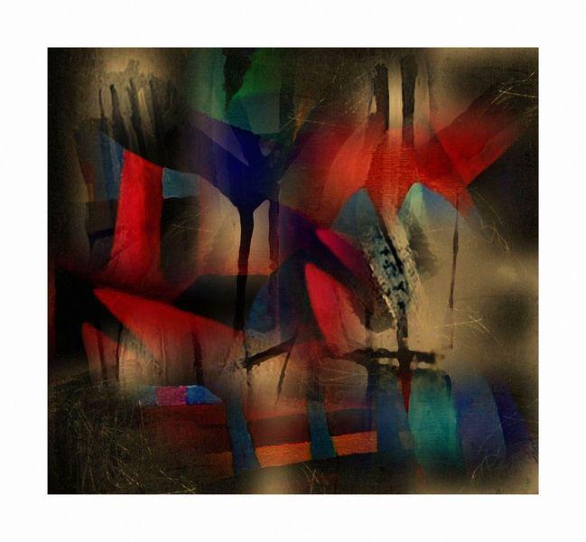 Digitale kunst, Surreal, Garten