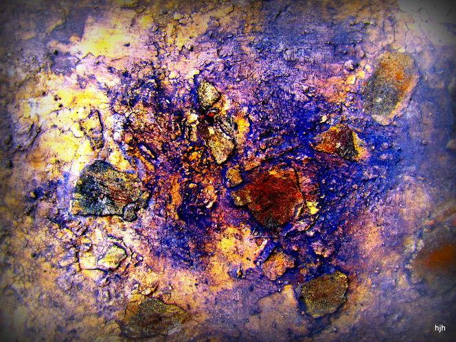 Malerei, Blech
