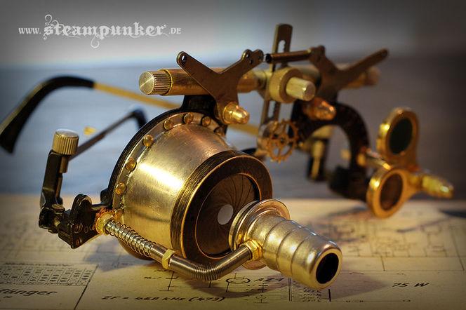 Brille, Cosplay, Ingolstadt, Steampunk, Cklockwork, Schweißerbrille