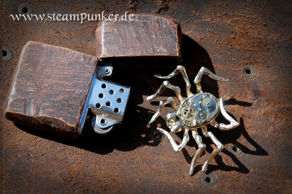 bild steampunk brosche schmuck vanitas von steampunk artwork bei kunstnet. Black Bedroom Furniture Sets. Home Design Ideas