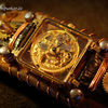 Uhr, Timetraveller, Mechanik, Wristwatch