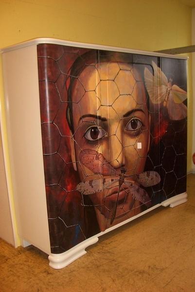在歐洲藝術, Wand, Möbel, Kunsthandwerk,