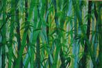 Bambus, Malerei