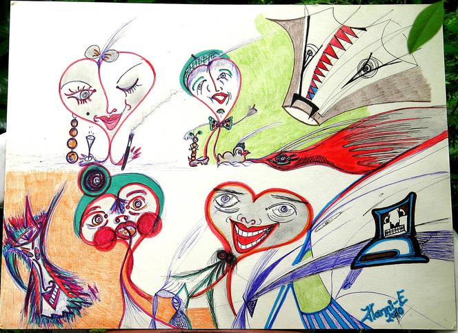 Gelungen, Abspannennicht, Zeichnungen