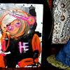 Farben, Astronaut, Malerei