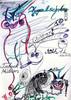 Manmussnervenwiedrahtseilehaben werbung, Zeichnungen, Ruf
