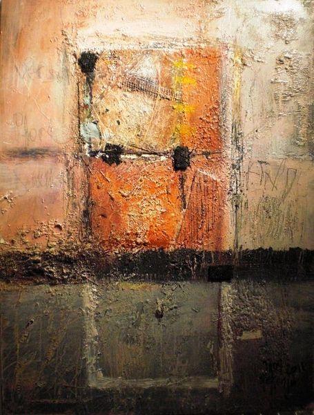 Wärme, Verschluss, Tor, Eingang, Malerei, Abstrakt