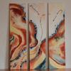 Spannung lebensgefühl abstrakt , Malerei, Abstrakt