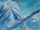 Sonne, Berge, Alpen, Schnee