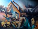 Leid, Treppe, Libelle, Portrait