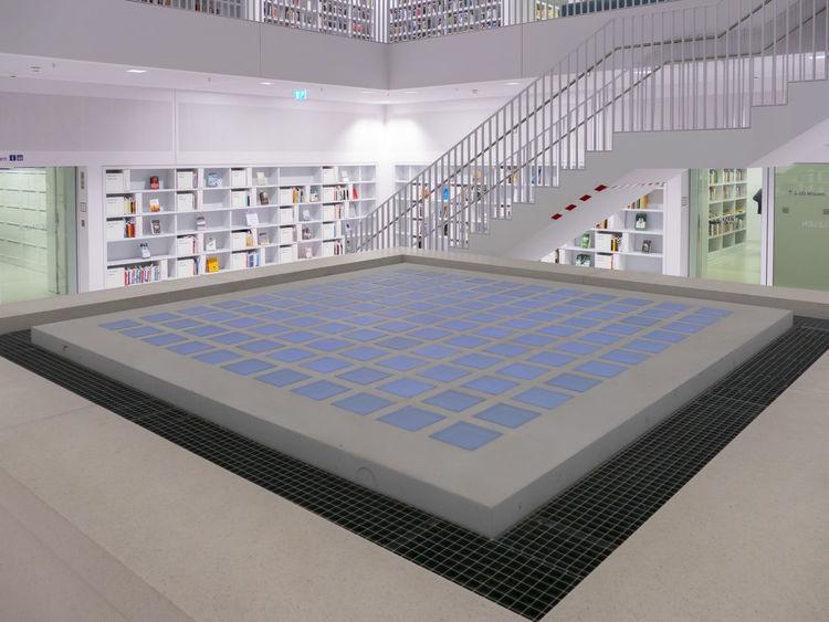Stadtbibliothek stuttgart, Eun young yi, Architektur, Fotografie, Platz