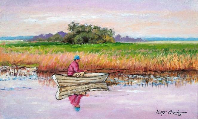 Malerei, Angler