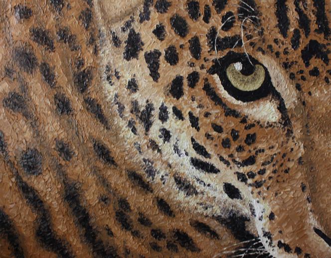 Tiermalerei, Katze, Irina wall, Tiere, Leopard, Malerei