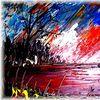 Ölmalerei, Usedom, Meer, Malerei