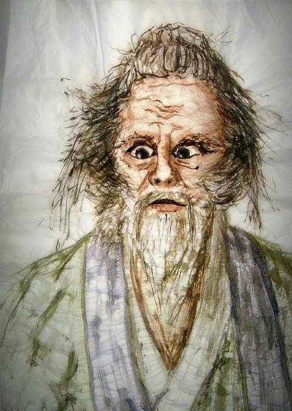 Ran, Seidenpapier, Tuschmalerei, Ichimonji, Hidetora, Malerei