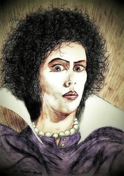 Rocky, Horror, Zeichnungen, Portrait