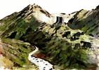Tusche, Tuschetien, Landschaft, Berge