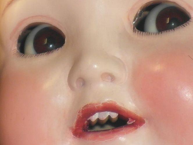 Grusel, Böse, Museum, Blick, Kielce, Puppe