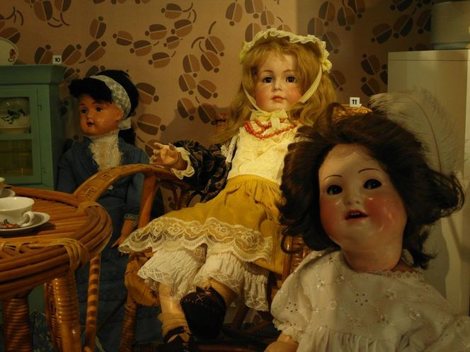 Museum kielce, Puppen idyll, Fotografie, Konzept
